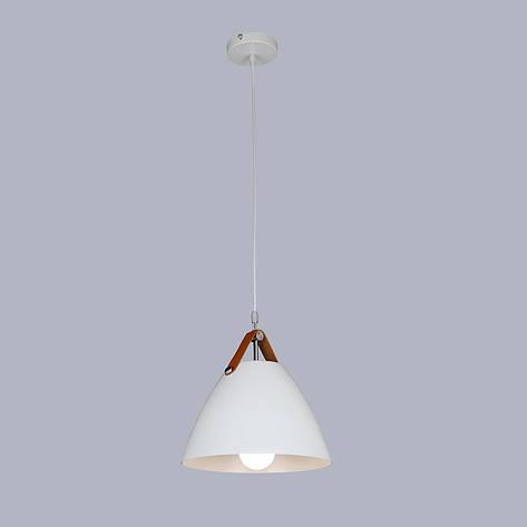 Дизайнерский белый подвес (27см), фото 2