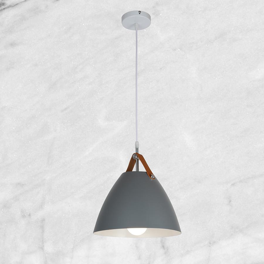 Дизайнерский серый подвес (27см)