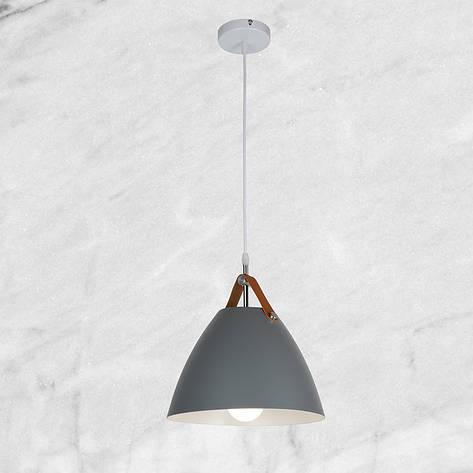 Дизайнерский серый подвес (27см), фото 2