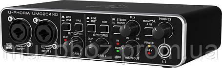 Аудиоинтерфейс Behringer UMC204HD, фото 2