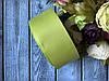 """Репсовая лента 4 см, 25 ярд/рулон,  цвета """"оливка"""""""
