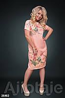 Платье льняное свободного кроя, фото 1