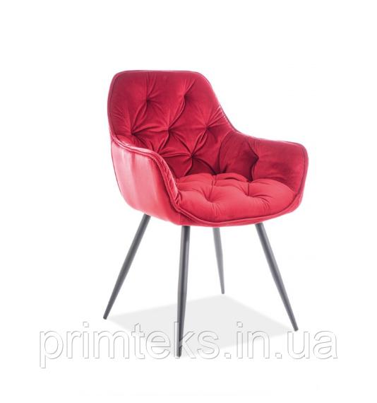Кресло Cherry Velvet ( Черри Вельвет) бордовый