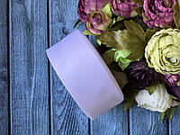 Репсова стрічка 4 см, 25 ярд/рулон, білого кольору