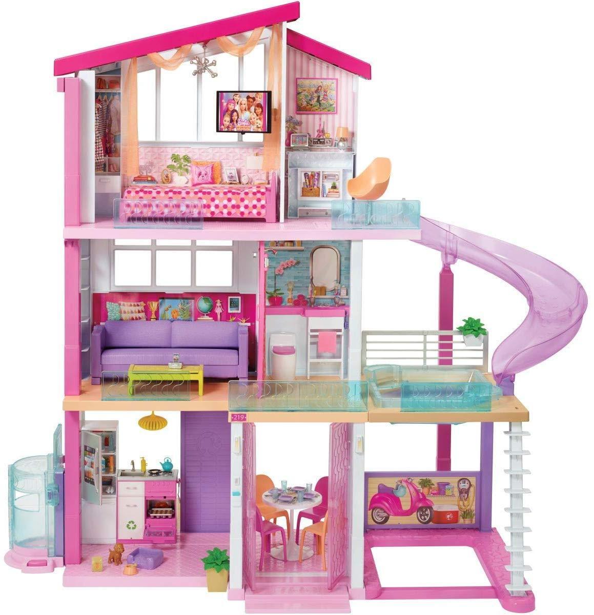 Дом Барби с бассейном Barbie Dreamhouse Mattel