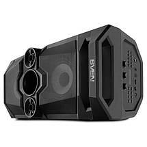 Акустическая система Sven PS-650 Black, магнитола Свен пс-650 блек, акустика колонка Sven PS650, колонки пс650, фото 2