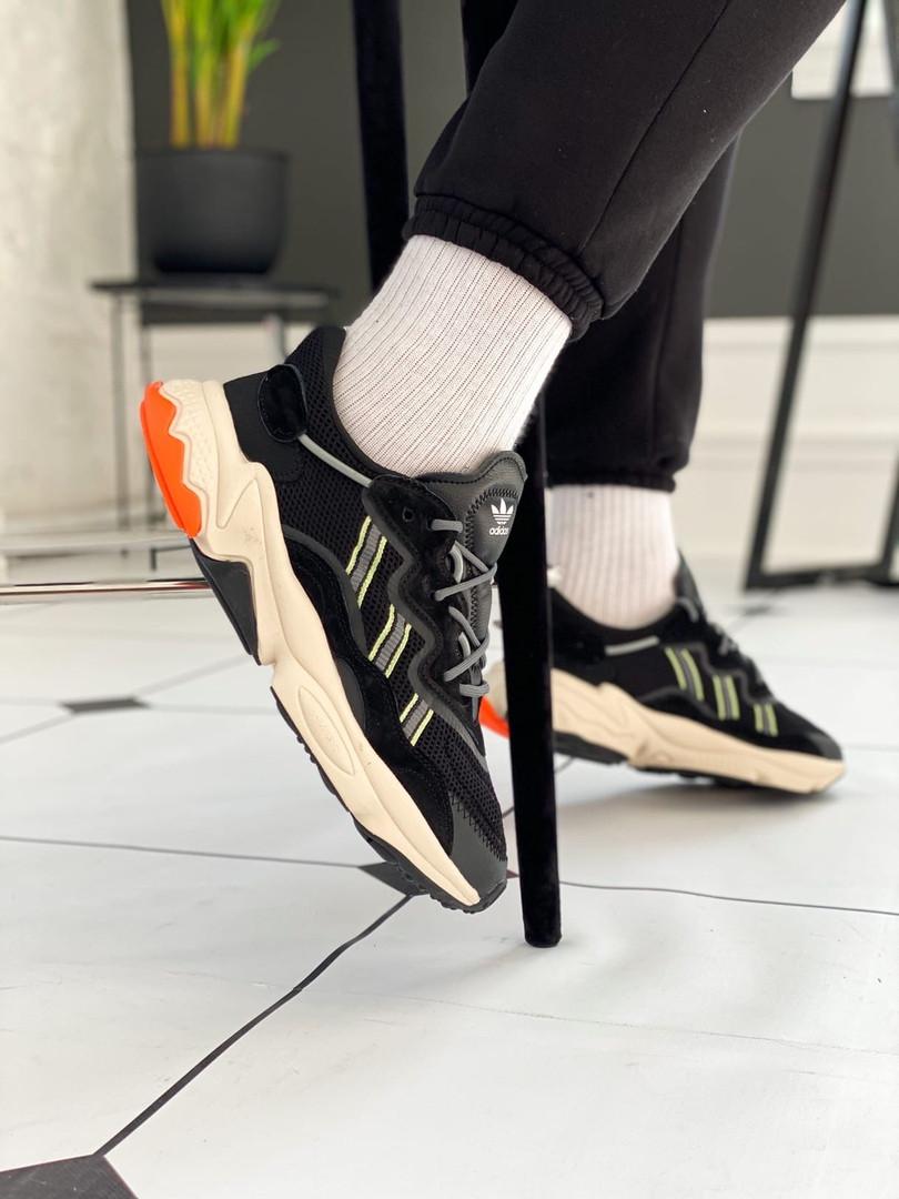 """Кроссовки Adidas Ozweego """"Черные"""""""