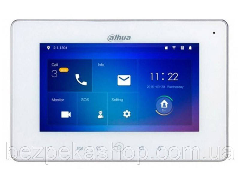 Dahua DH-VTH5241DW монитор IP домофона с Wi-Fi