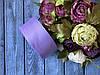 Репсова стрічка 4 см, 25 ярд/рулон, світло-бузкового кольору