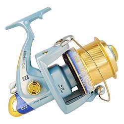 Катушка Tica Dolphin SF6000 (13+1BB, 4.1:1) для карповой и береговой морской ловли (дополнительная шпуля)