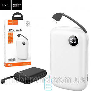Power Bank Hoco B38 Extreme With Cable Lightning 10000 mAh Original белый