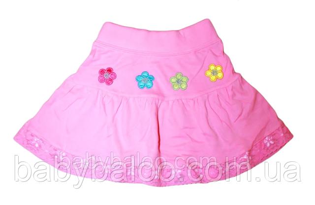 трикотажная юбка для девочки фото