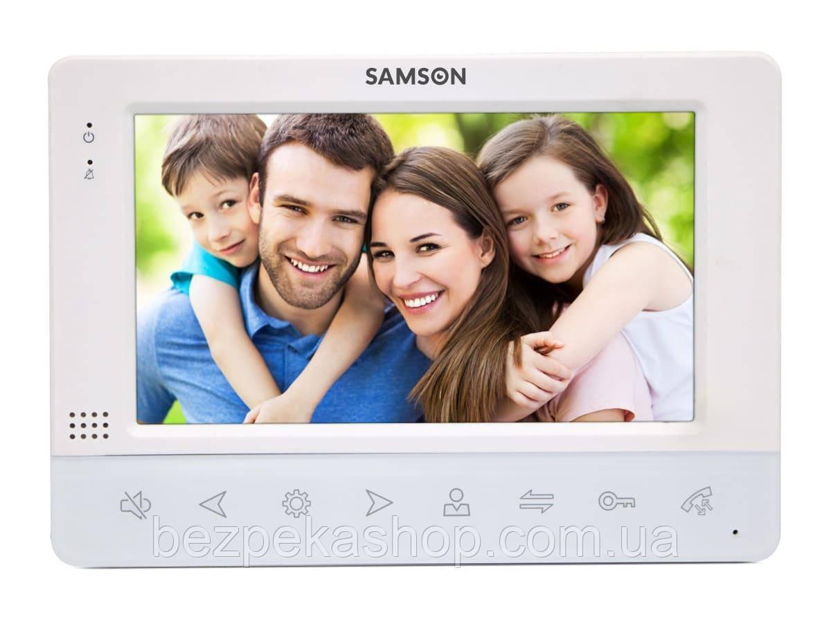 """Samson SW-715N монитор домофона 7"""" (белый)"""