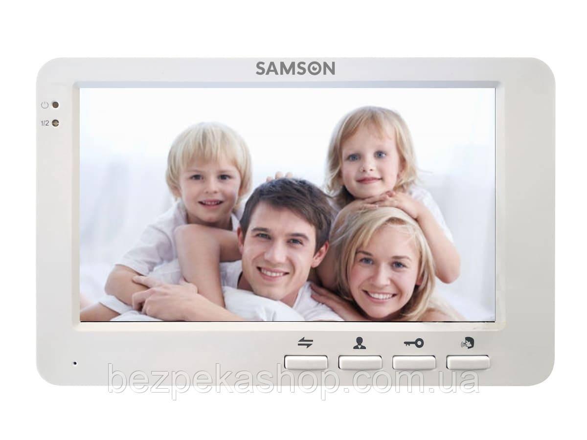 """Samson SW-315 AHD монитор домофона 7"""" (белый)"""