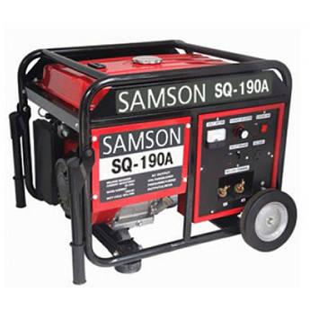 Генератор зварювальний SAMSON SQ-190A, струм 210 А, бензин, бак 25 л, ручний старт)