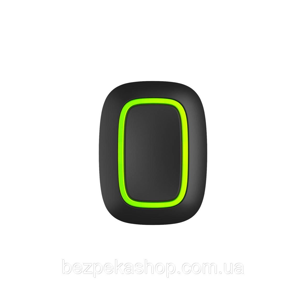 Ajax Button black EU беспроводная тривожная кнопка