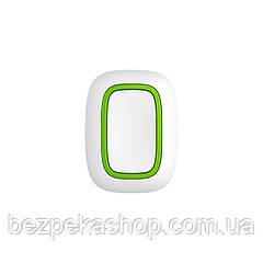 Ajax Button white EU беспроводная тривожная кнопка