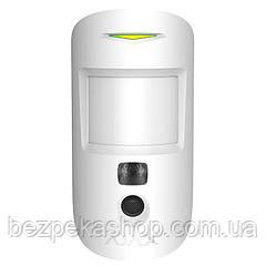 Ajax MotionCam White датчик движения с фотокамерой