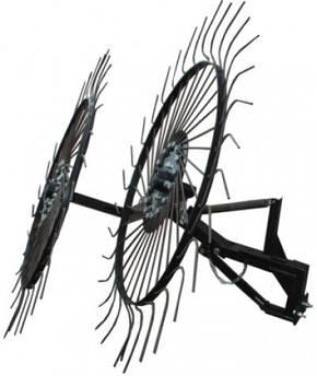 "Граблі ворушилки-сонечко великі ""Преміум"" на 2 колеса (1,2 м)"