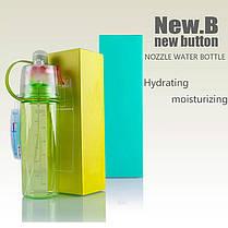 Бутылка для воды NewB, распылитель, 600мл, цвета в ассортименте, фото 3