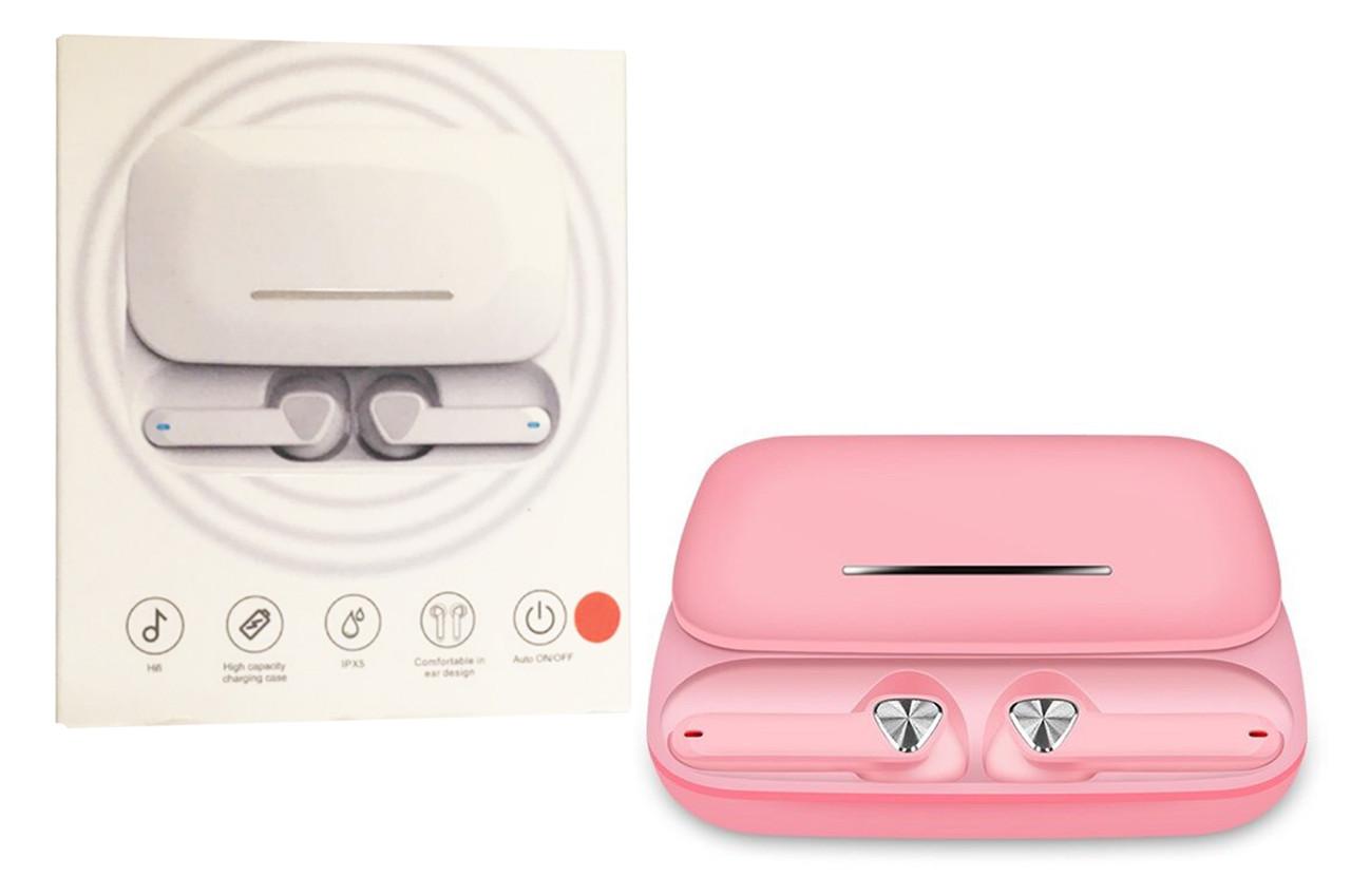 Беспроводные сенсорные наушники TRUE FI Розовые