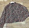 Прямая женская рубашка с принтом 42-46 (в расцветках), фото 2