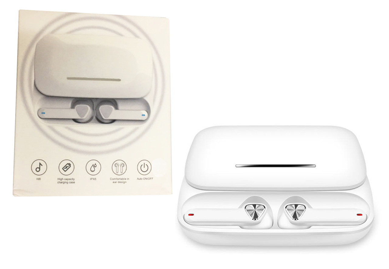 Беспроводные сенсорные наушники TRUE FI Белые
