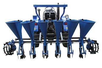"""Чесночная сажалка для трактора """"Премиум"""" 6-ти рядная (ложки стандарт Ø24,5)"""