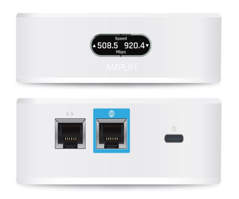 Маршрутизатор Ubiquiti AmpliFi Instant AFI-INS-R (1*LAN, 1*WAN, MIMO, 22dBm)