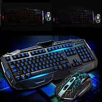 Профессиональная игровая клавиатура с подсветкой V100 +Мышка