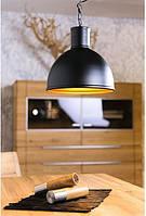 Подвесной металлический ретро светильник Heitronic HELSINKI Ø30см