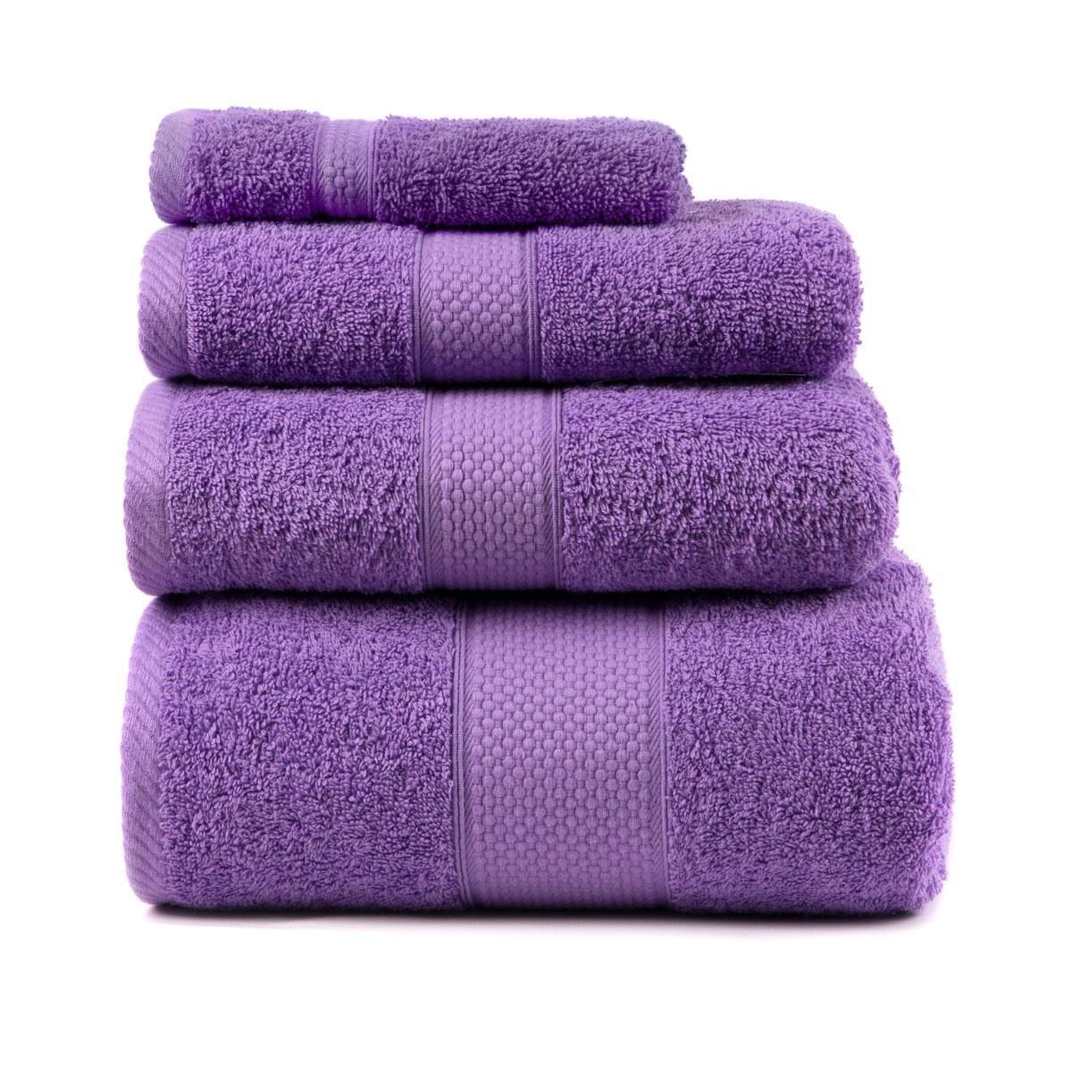 Полотенце для тела Arya Miranda Soft 100*150 см махровое банное лиловое арт.TR1002480