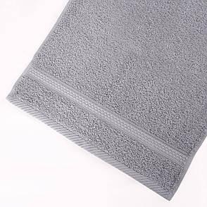Полотенце для лица Arya Miranda Soft 30*50 см махровое банное серое арт.TRK111000017462, фото 2