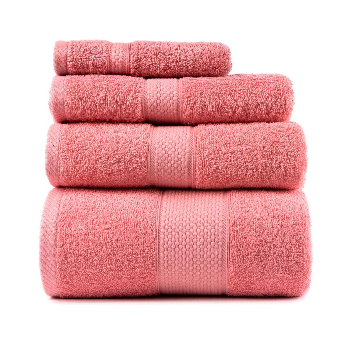Полотенце для лица Arya Miranda Soft 30*50 см махровое банное коралловое арт.TRK111000017462