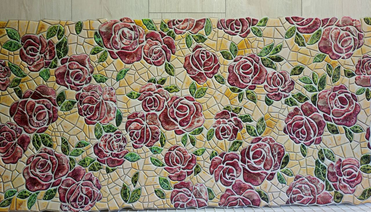 "Панелі ПВХ ""Кам'яна троянда"" 0,4мм (962*484 мм)"