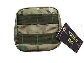 Tactical Army - Big utility pouch - Cordura multicam - ART01 (для страйкбола)