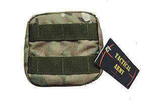 Tactical Army - Big utility pouch - Cordura multicam - ART01 (для страйкбола), фото 2