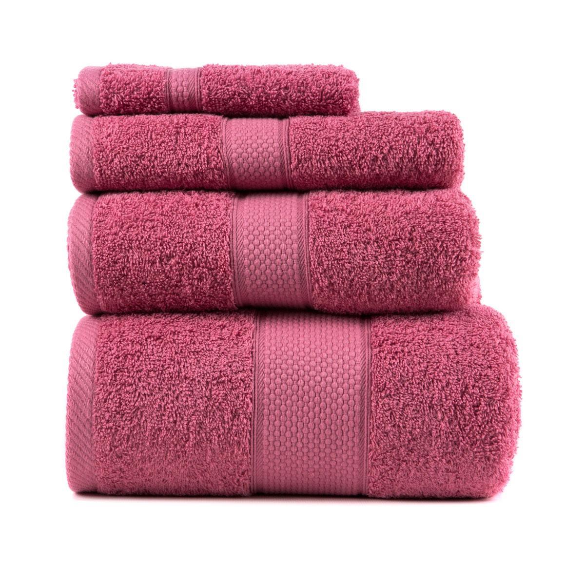 Полотенце для лица Arya Miranda Soft 50*90 см махровое банное сухая роза арт.TRK111000017463