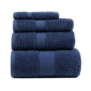Полотенце для лица Arya Miranda Soft 50*90 см махровое банное синее арт.TRK111000017463, фото 2
