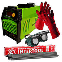 Сварочный инвертор Белорус ИСА 380+ перчатки сварщика (огне упорные)+1кг электродов 3мм+очки сварщика+доставка