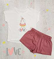 Пижама (комплект) для девочки 104 см