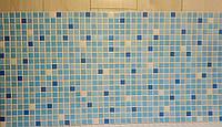 Пластикова листова стінова панель ПВХ Регул Мікс блакитний 0,3мм 956*480 мм