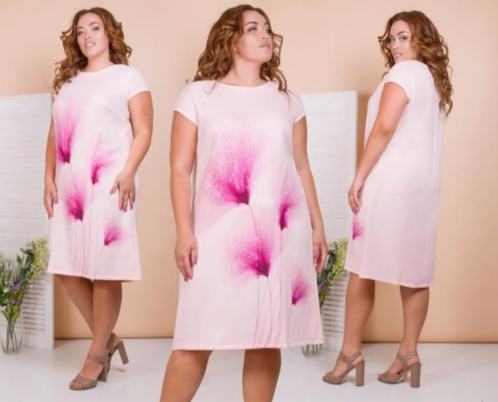 Платье праздничное льняное
