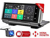"""Автомобильный складной регистратор на торпеду TianSu ANDROID, 7"""" сенсор, 2 камеры, GPS+ WiFi,16Gb, FM, 3G Sim, фото 1"""