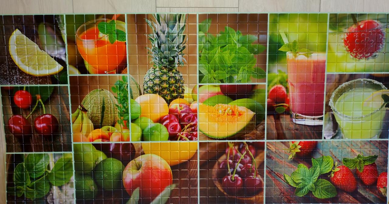 Пластикова листова стінова панель ПВХ Регул Смузі 0,3мм 956*480 мм