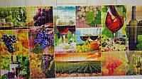 Пластикова листова стінова панель ПВХ Регул Мозаїка Осінь 0,3мм 956*480 мм, фото 1