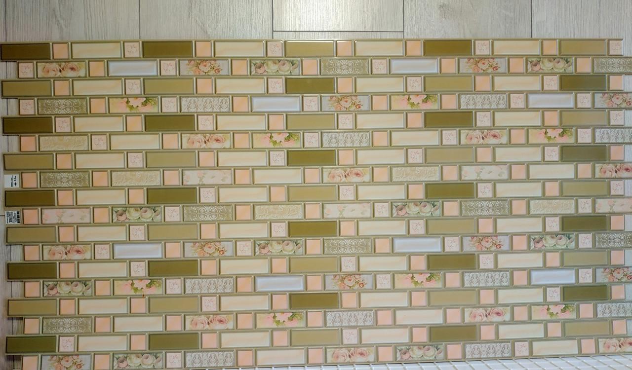 """Панелі ПВХ цеглинки """"Прованс"""" 0,3мм (924*480 мм)"""