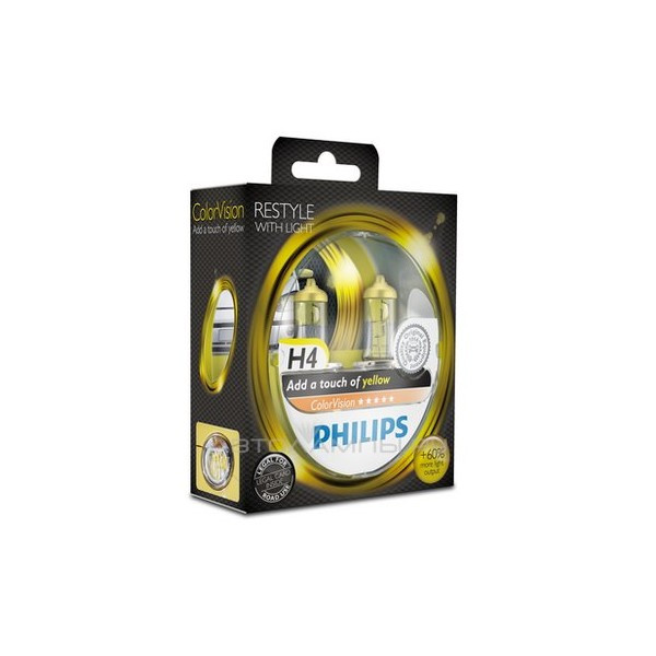 Philips ColorVision H4 Yellow