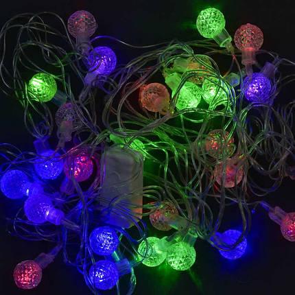 """Світлодіодна гірлянда """"Кульки"""", мультиколор, C31299, фото 2"""