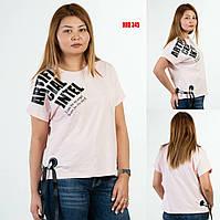 Стильная женская футболка больших размеров Sogo (Турция) HRB 345